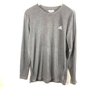 Adidas climacool aeroknit gray long sleeve